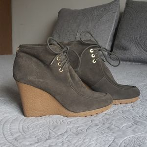 Michael Kors Wedge Booties